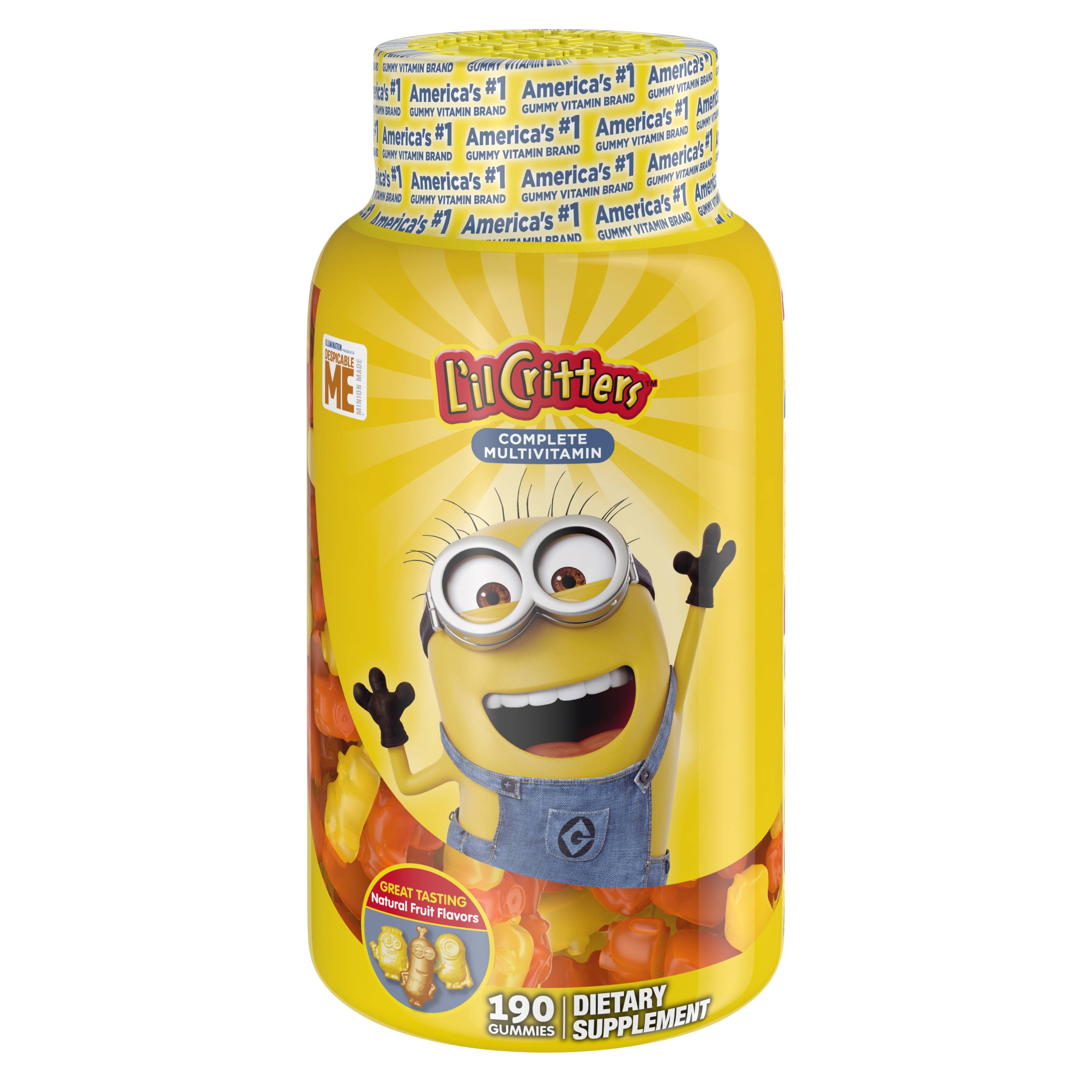Despicable Me Multivitamins