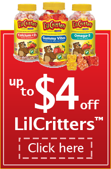Up to $4 Off LilCritters - Click Here