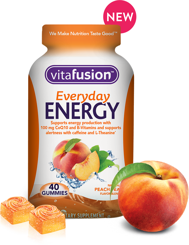 vitafusion everyday energy bottle