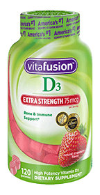 Extra strength vitamin D3