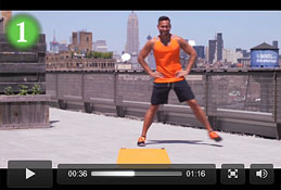 Watch now: vitafusion8 work out with Keoni Hudoba